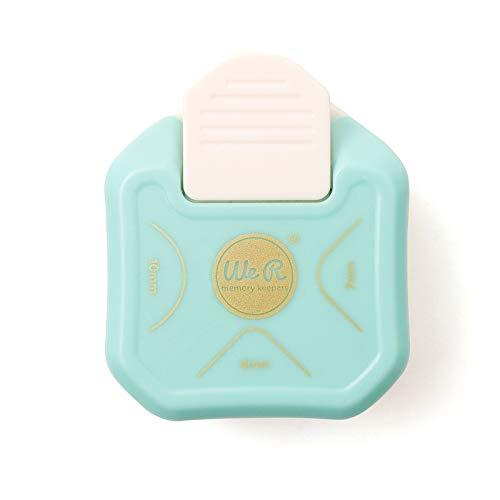 We R Memory Keepers Ecken Stanzer 3-Way Corner Punch, Plastik, blau, 21.6 x 4.6 x 20.3 cm
