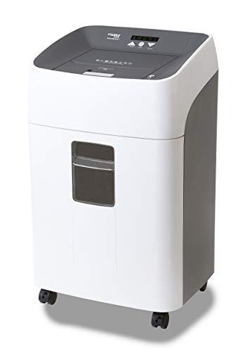 Dahle ShredMATIC 300 Aktenvernichter Autofeed (300 Blatt, P-4, Partikelschnitt, öl- und wartungsfrei, Automatischer Papiereinzug) lichtgrau / staubgrau