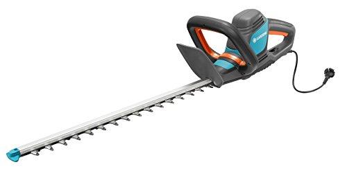 Gardena Elektro-Heckenschere PowerCut 700/65: Heckenschneider mit 700 W Motorleistung, 65 cm Messerlänge, 27 mm Messeröffnung, ergonomischer Griff und Anschlagschutz (9835-20)