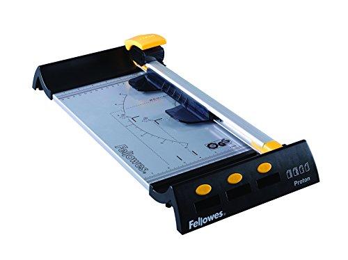 Fellowes 5410201 Heimbüro Rollenschneidemaschine Proton A4 schwarz/metallic