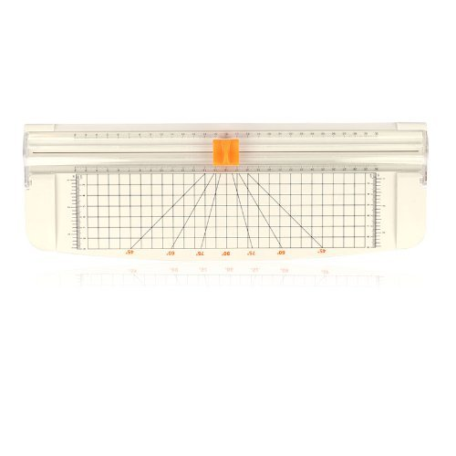 'LAGUTE JLS A4 15*5.5' Papierschneider, Weiß