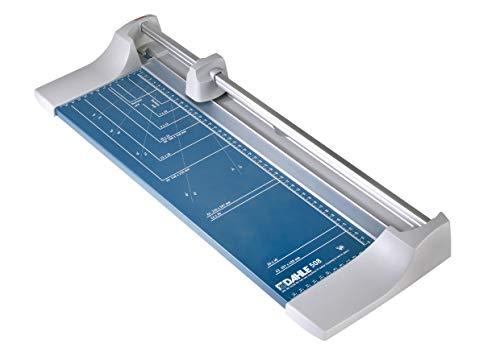 Dahle 508 Papierschneider (Bis DIN A3, 6 Blatt Schneidleistung) blau
