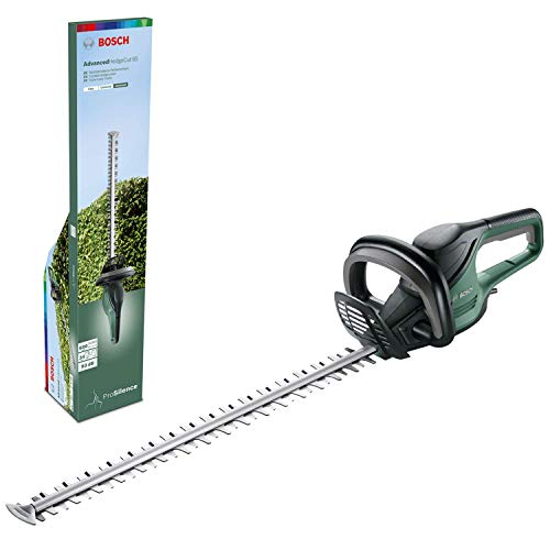 Bosch Heckenschere AdvancedHedgecut 65 (500 Watt, Messerlänge: 65cm, für große Hecken, Messerabstand: 34mm, in Karton)