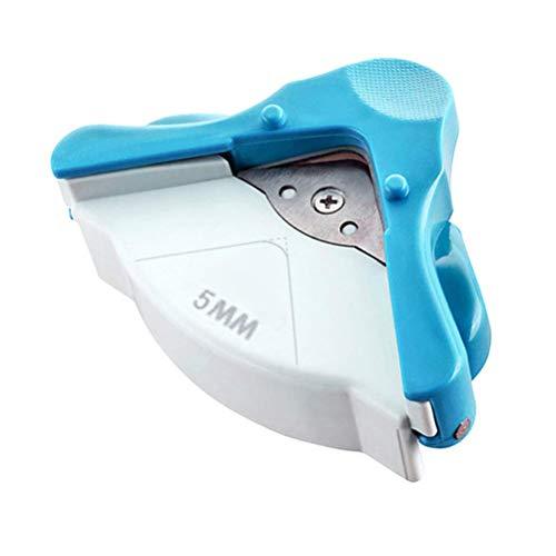 LHKJ Eckenrunder Eckenschneider Foto Papier Corner Cutter DIY Handwerk Werkzeug(Radius 5 mm)