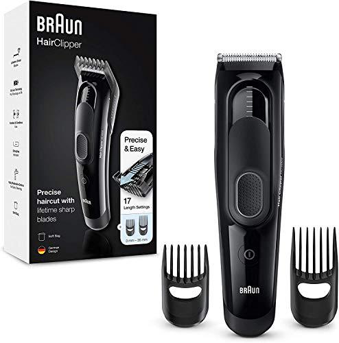 Braun Haarschneider HC5050 – Ultimatives Haarschneide-Erlebnis von Braun in 17 Längen