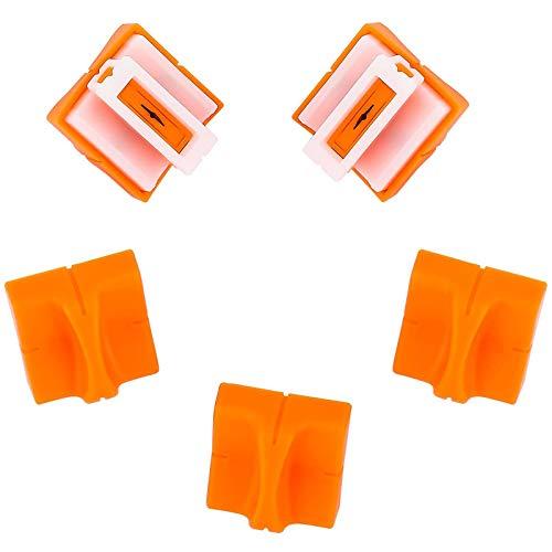 Firbon Papierschneidemaschine A4 12 Zoll Papierschneidemaschine mit automatischer Sicherheitsüberwachung Guillotine und Seitenlineal für Gutschein, Bastelpapier, Etikett und Foto (Gelb)