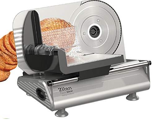 Brotschneidemaschine   Brotschneider   Allesschneider   Bread Slicer   Schneidegerät   150 Watt   Edelstahlklinge Ø190 mm   Schneidestärke 0-15 mm
