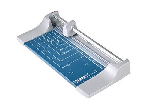 Dahle 507 Papierschneider (8 Blatt Schneidleistung, Bis DIN A4) blau