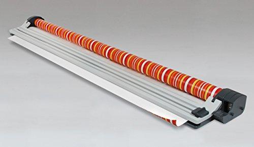 Zoomyo Multifunktionaler A4 Papierschneider OC250 von zoomyo, Mit 9 verschiedenen Schneideklingen + praktischer Maßskala, Papierschneidegerät, Schneidegerät für Papier, Schnittlänge: bis 32 cm…