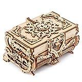 Laserschneiden 3D zusammengebaut Kreative DIY Puzzle Holz Mechanische Übertragung Antike Schmuckschachtel Modell