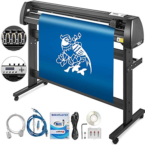 BananaB 53 Inch vinyl schneideplotter vinyl cutter plotter 1350cm Slogan Cutting Plotter Desktop Machine mit der Software Prefessional