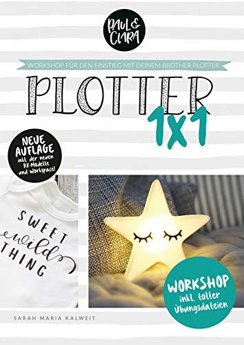 Plotter 1x1 - Workshop für den Einstieg beim Plotten mit deinem Brother ScanNCut® Plotter // inkl. Übungsdateien