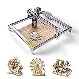 ATOMSTACK A5 Pro Laser Graviermaschine, 40W Graviermaschine Laserengraver, Compressed Spot CNC-Holzfräser Carving DIY Laser Master, Augenschutz Fixfokus-Holzschneiden, 16,14'x 15,74' Gravierbereich