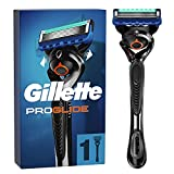 Gillette ProGlide Rasierer Herren mit 1 Rasierklinge, 5 Anti-Irritations-Klingen für eine gründliche, langanhaltende Rasur, aktuelle Version