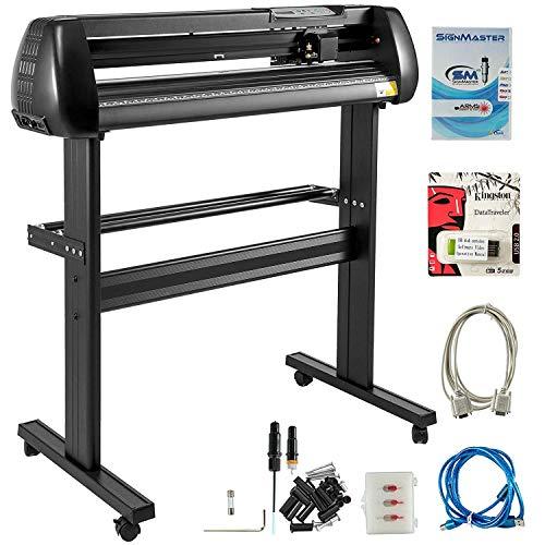 VEVOR 34 Inch vinyl schneideplotter vinyl cutter plotter 870mm Slogan Cutting Plotter basic vinyl cutter machine Singmaster Software