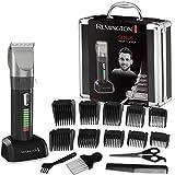 Remington Haarschneidemaschine HC5810 (selbstschärfende Keramikklingen, 10 Aufsteckkämme + Präzisionslängeneinstellung, Netz-/Akkubetrieb, Lithium, Profi-Alukoffer) Haarschneider, Haartrimmer*