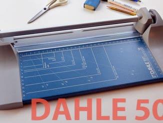 Dahle 507 Rollenschneidemaschine Papierschneidemaschine im Test