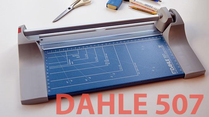 Die Dahle 507 Roll- und Schnittschneidemaschine