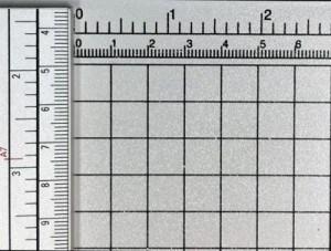 Zentimeter- und Zollskalen