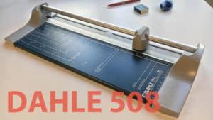 Dahle 508 Rollenschneidemaschine Test