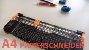 A4 Papierschneider