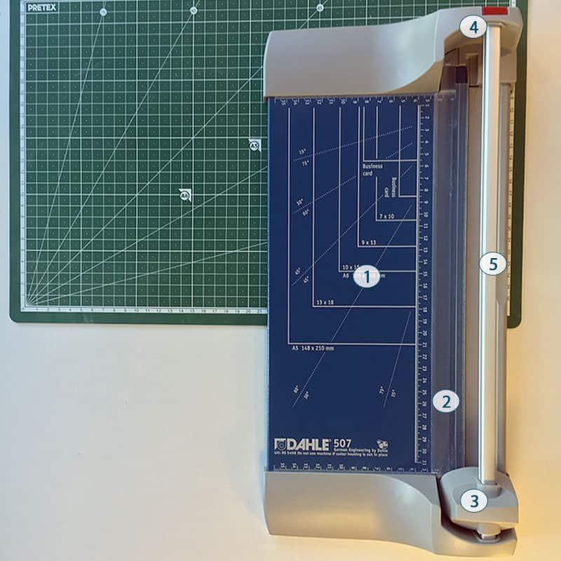 Im Test: Die Dahle 507 Roll- & Schnitt-Schneidemaschine 1