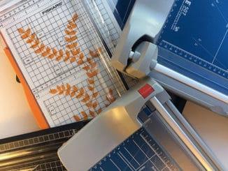 Papierschneidemaschine-test