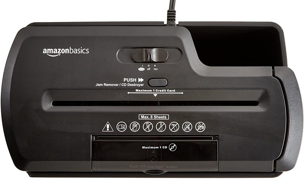 AmazonBasics Aktenvernichter und CD-Schredder: Ihr Büro braucht diesen funktionalen Helfer 1