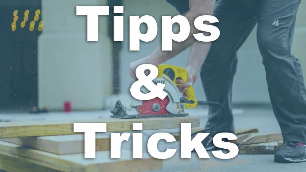 tipps tricks handkreissaege