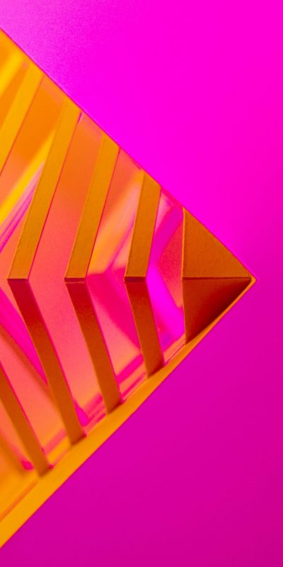 purple and yellow triangle wallpaper